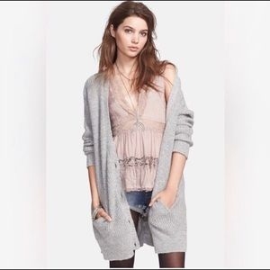 Free People Cloudy Day Cardigan, size M